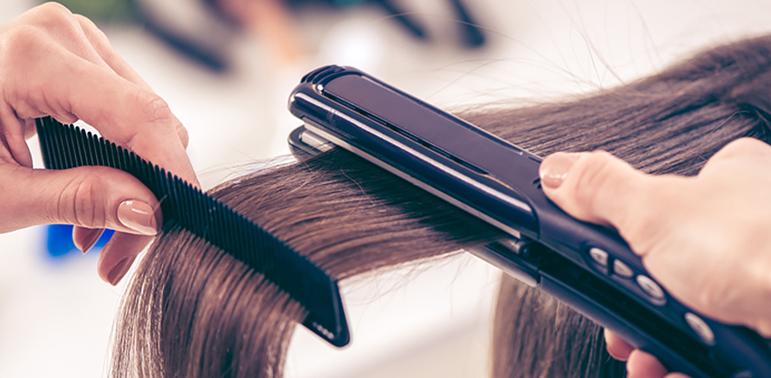 Haare glätten Tipps